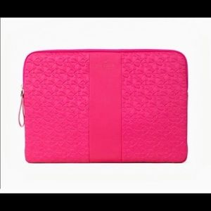 KATE SPADE Magenta Arya Laptop Tablet Sleeve